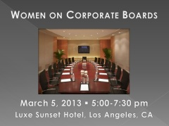 Women on Corporate Boards